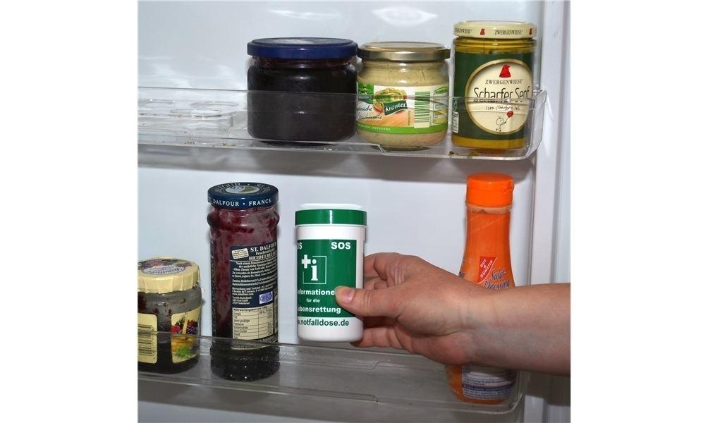 Kühlschrank Dose : Projekt mit notfalldosen in ortrand rettung aus dem kühlschrank
