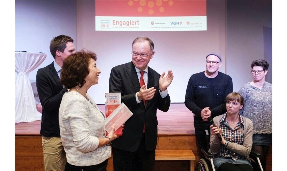 Ministerpräsident ehrt TuSG-Rolfshagen