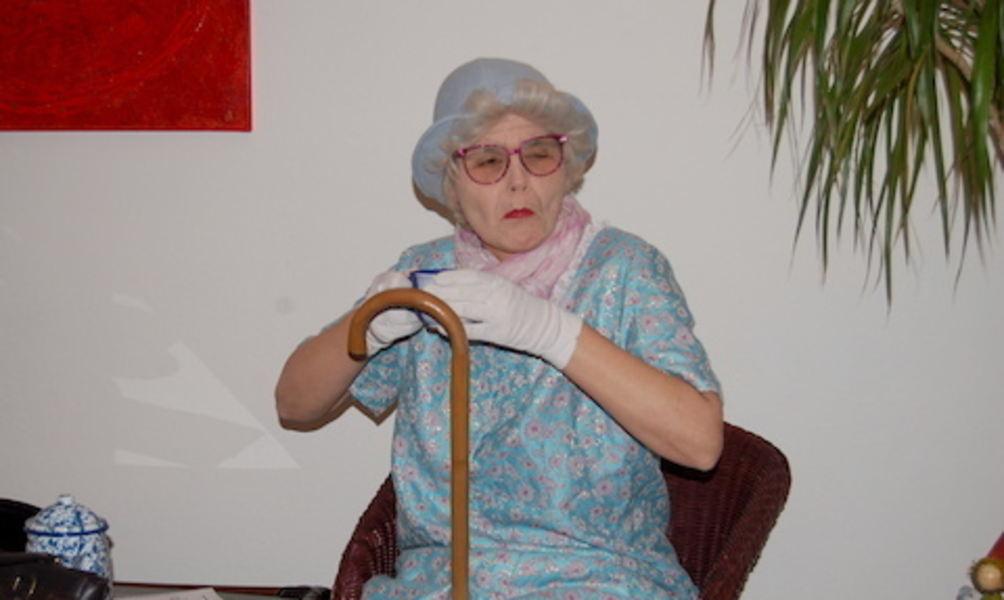 Dessous oma Granny